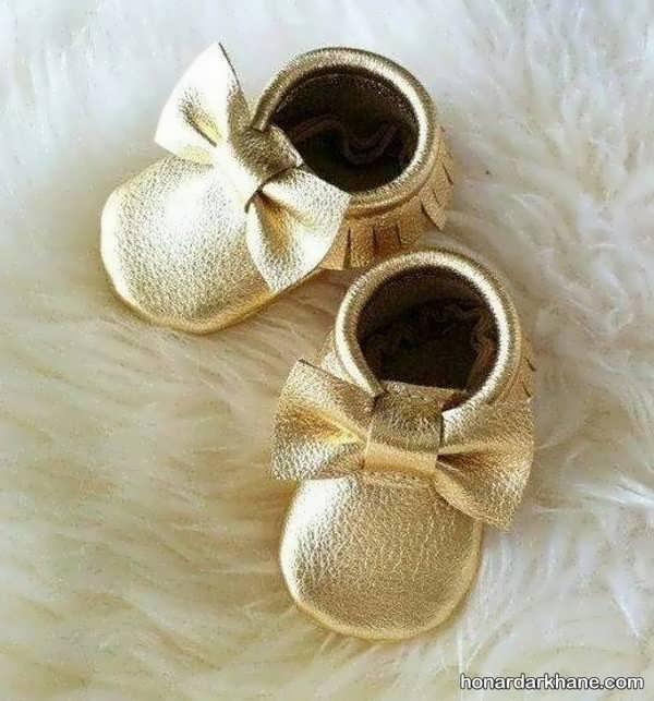 مدل های شیک کفش نوزادی