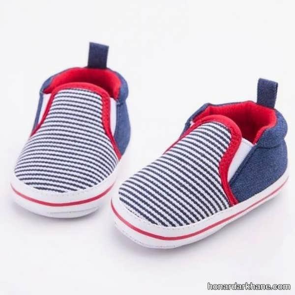 مدل های طرح دار کفش نوزادی