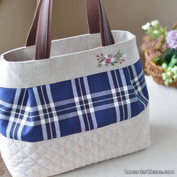 آموزش درست کردن کیف با طرحی زیبا