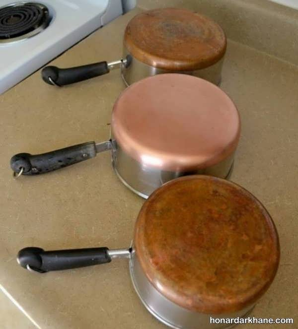انواع روش های موثر تمیز کردن ظروف مسی