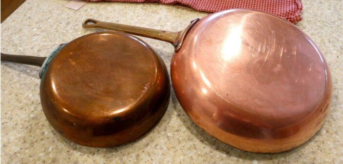 انواع روش های موثر برق انداختن ظروف مسی