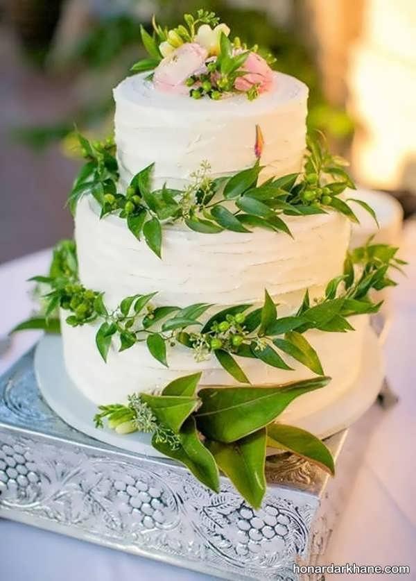 مدل های خلاقانه دیزاین کیک با گل رز