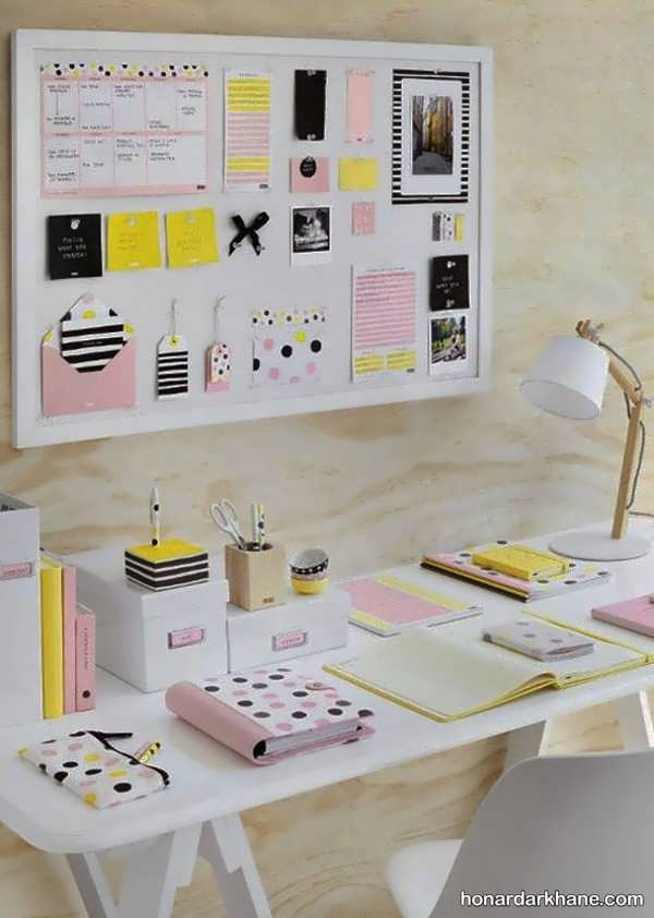انواع دیزاین خلاقانه میز کار