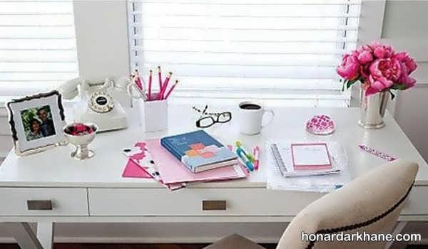 انواع دیزاین شیک و زیبا میز تحریر