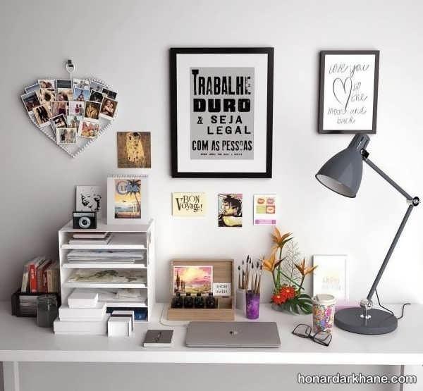 انواع دیزاین جالب و جدید میز تحریر