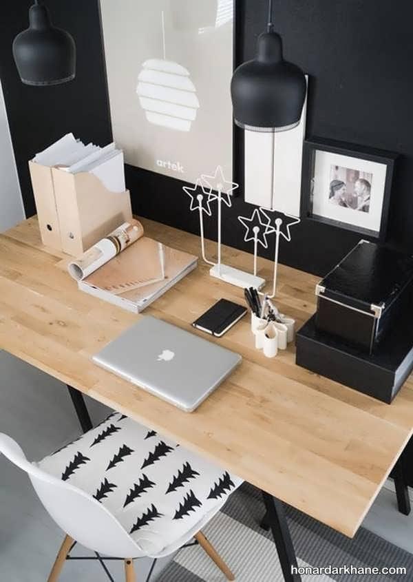 مدل های زیبا و خاص دیزاین میز تحریر