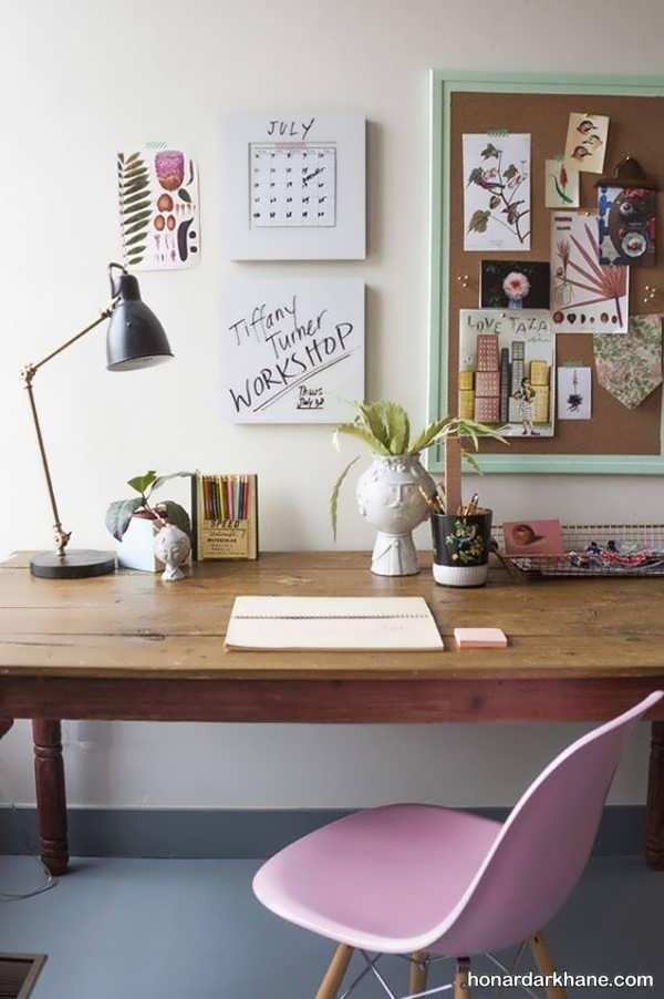 مدل های شیک و خلاقانه دیزاین میز کار