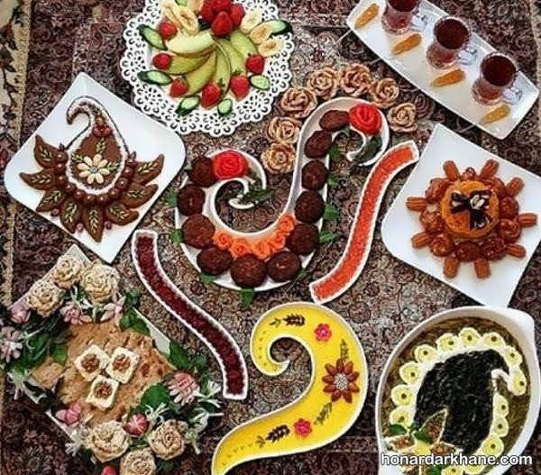 سبک های جالب دیزاین غذا
