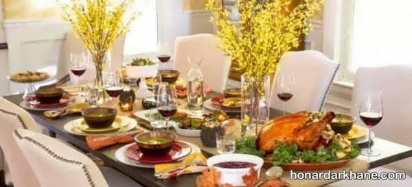 انواع تزیین جالب و جدید غذا برای مهمانی