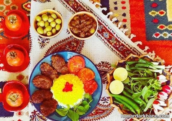 انواع ایده های جذاب تزیین غذا