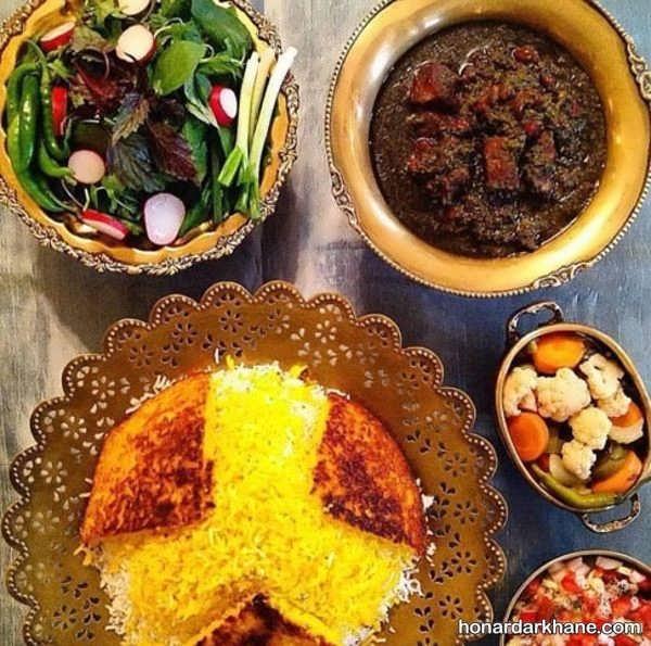 مدل های جذاب دیزاین غذا برای مهمانی