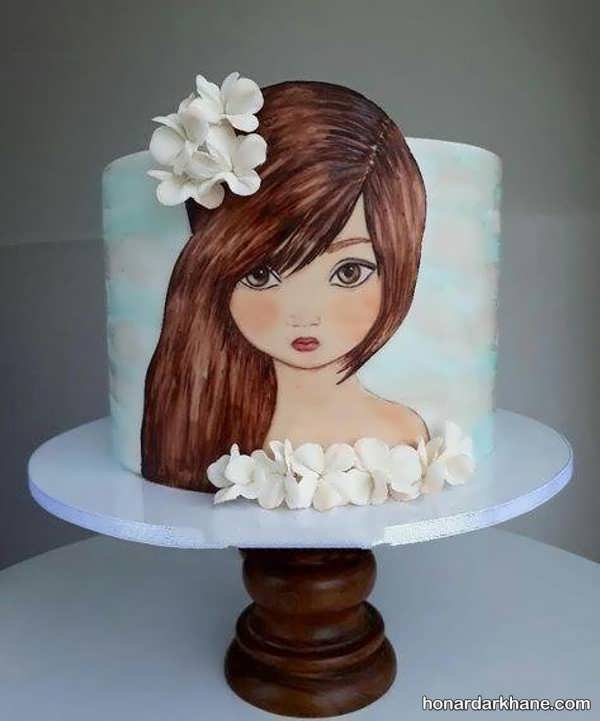مدل های جالب و جدید دیزاین کیک دخترانه