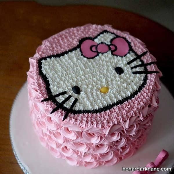 انواع دیزاین شیک و خلاقانه کیک دخترانه