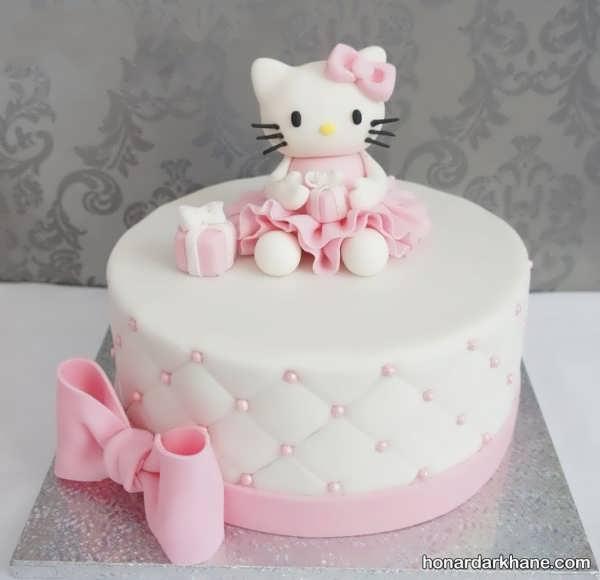 انواع ایده های خاص دیزاین کیک دخترانه