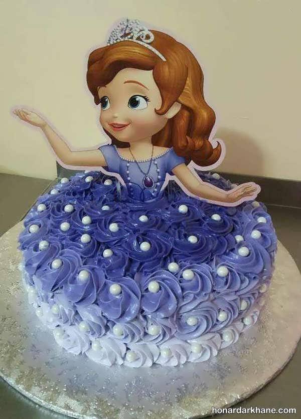 مدل های زیبا و جذاب تزیین کیک دخترانه