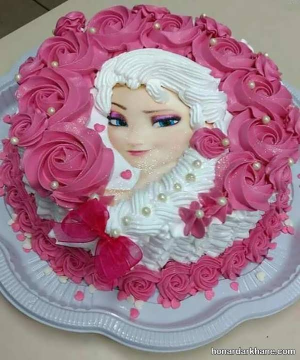 انواع دیزاین شیک و جالب کیک دخترانه