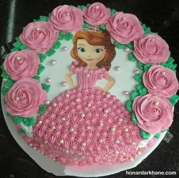 مدل های جالب دیزاین کیک دخترانه
