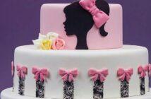 مدل های متنوع و شیک تزیین کیک دخترانه