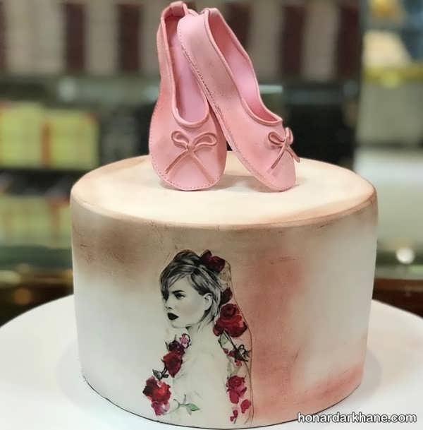 مدل های شیک و جدید تزیین کیک دخترانه
