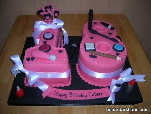 انواع دیزاین جالب و شیک کیک دخترانه