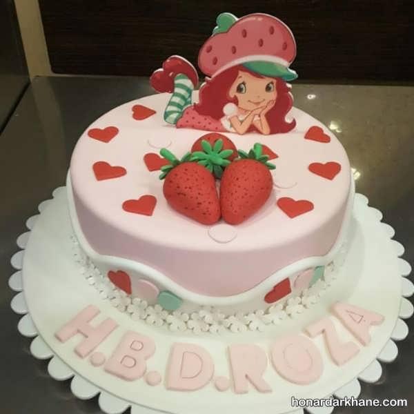 انواع دیزاین زیبا و خاص کیک دخترانه