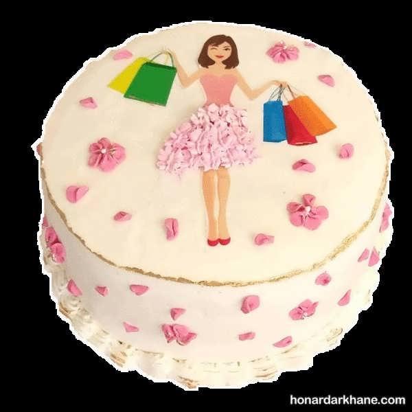 مدل های جذاب تزیینات کیک دخترانه