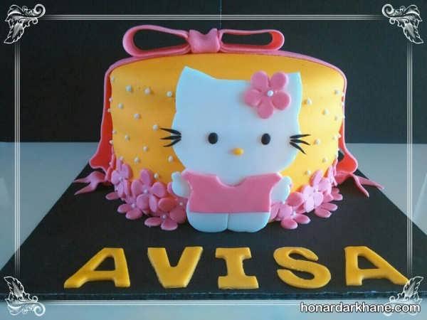 انواع مدل های شیک و جذاب دکوراسیون کیک دخترانه