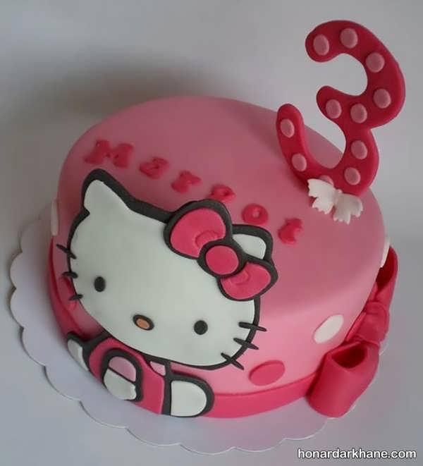 انواع دیزاین جالب کیک دخترانه