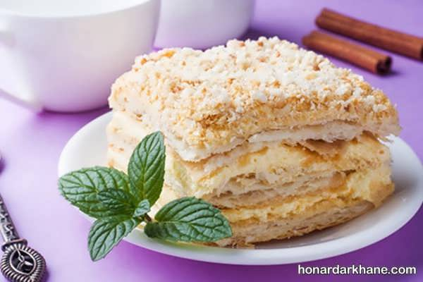 طرز پخت شیرینی ناپلئونی