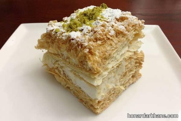 روش تهیه شیرینی ناپلئونی لذیذ