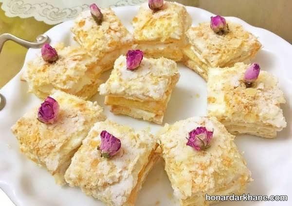 طرز تهیه شیرینی ناپلئونی خوشمزه