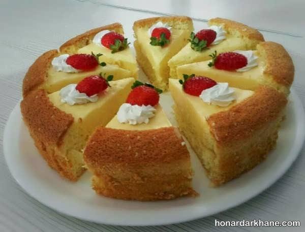 روش تهیه کیک ماست با طعمی دلنشین