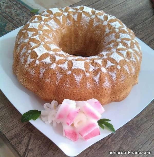 روش پخت کیک ماست بدون فر