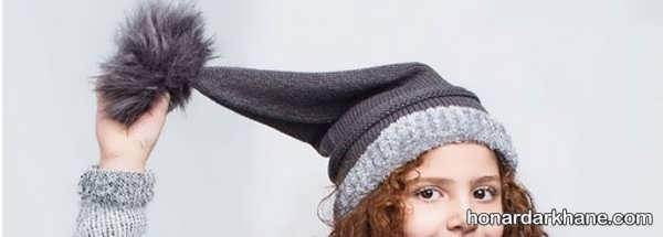 انواع کلاه بافتنی خاص و جذاب جوکری