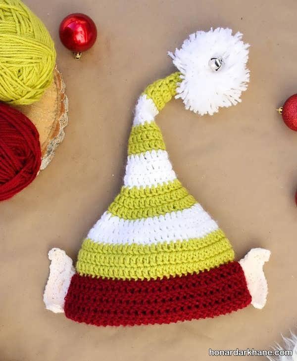 انواع کلاه بافتنی جوکری زیبا و جذاب