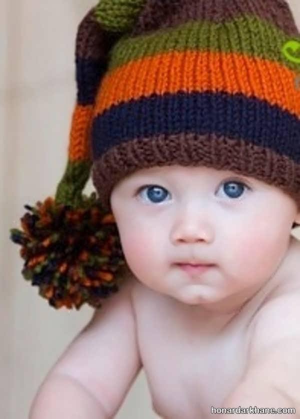 انواع کلاه بافتنی زیبا و جذاب جوکری