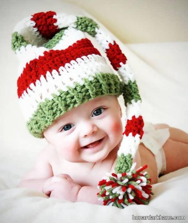 مدل های زیبا و خاص کلاه بافتنی شیپوری