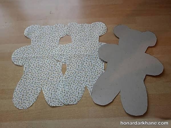 طریقه درست کردن عروسک خرس