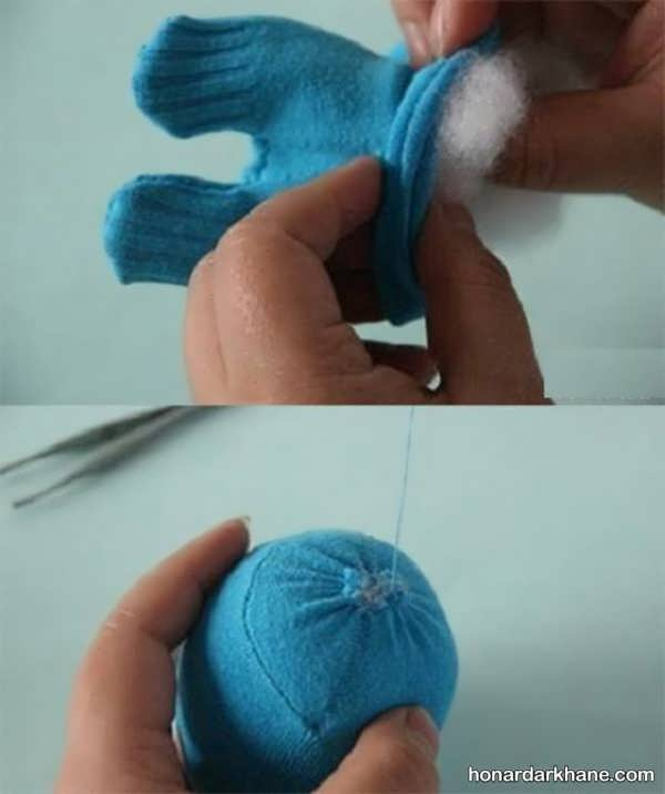 آموزش ساخت عروسک خرس ساده