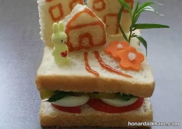 انواع سبک های جذاب دیزاین ساندویچ
