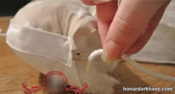 آموزش دوخت تشک محافظ کودک