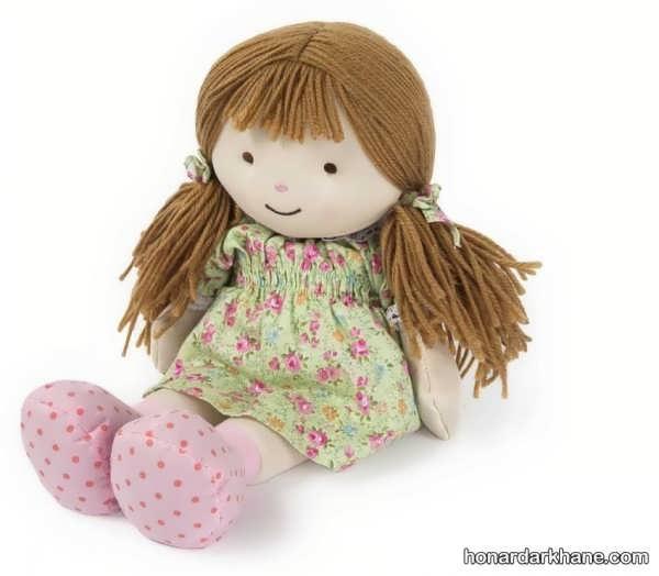 طریقه درست کردن عروسک با پارچه