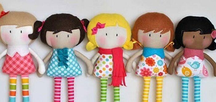 آموزش دوخت عروسک پارچه ای زیبا برای افراد مبتدی و تازه کار