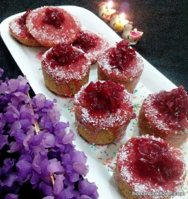 طریقه پخت کیک لبو برای شب یلدا