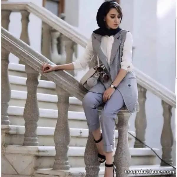 انواع پوشش کژوال دخترانه زیبا و جذاب