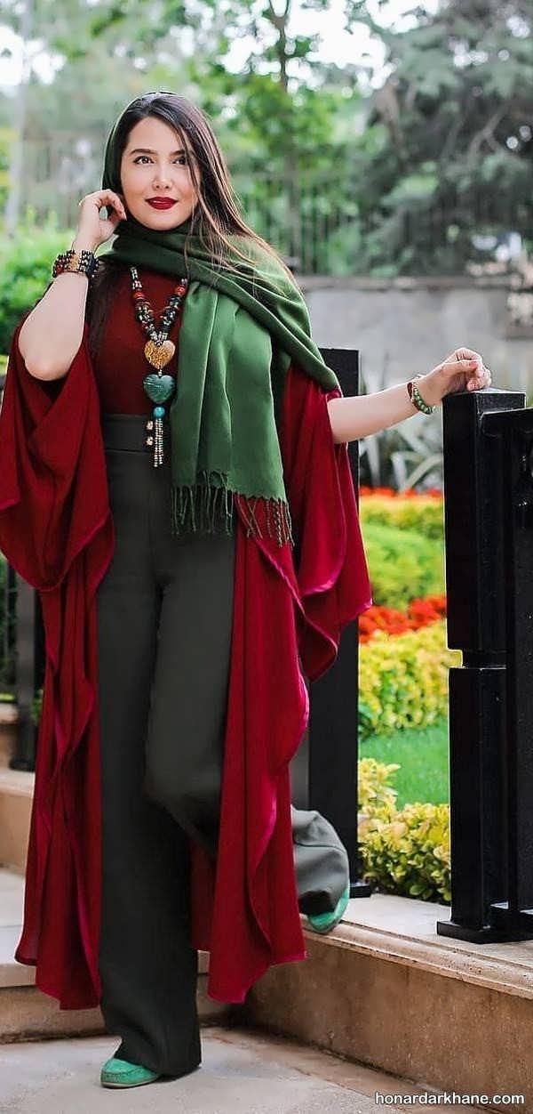 انواع جدید سبک پوشش کژوال دخترانه