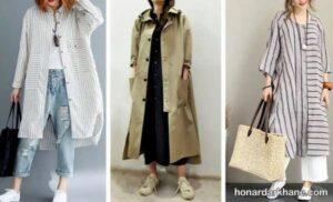 انواع پوشش کژوال زنانه جذاب و جدید