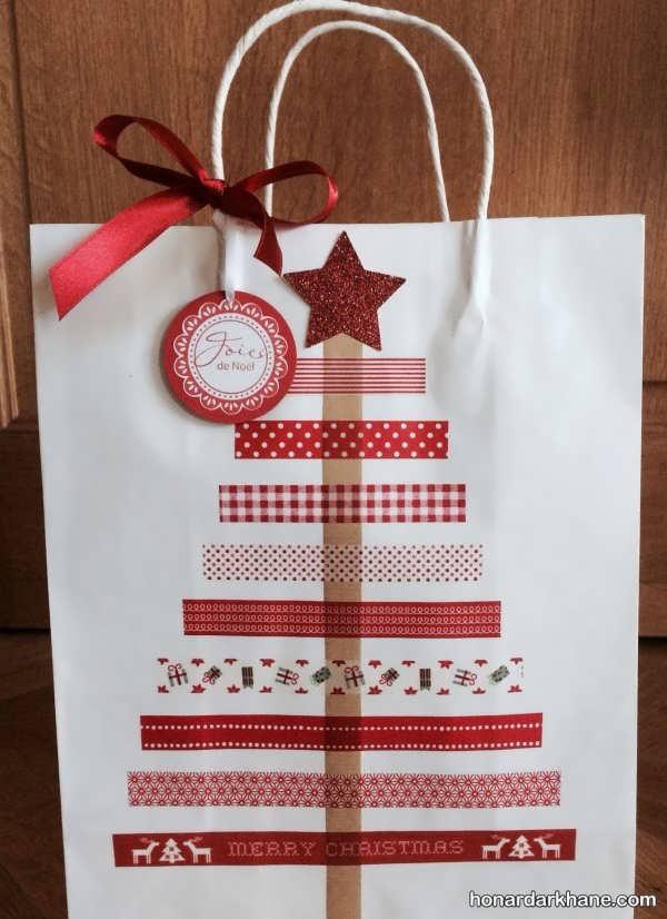 انواع مدل های زیبا تزیینات هدیه کریسمس