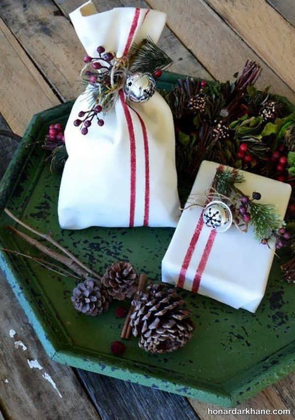 مدل های جذاب و جدید تزیینات هدیه کریسمس