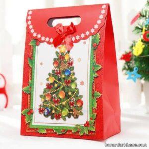 مدل های شیک و زیبا تزیینات کادو کریسمس